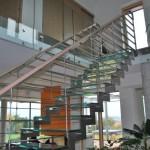 Skleněné schodiště